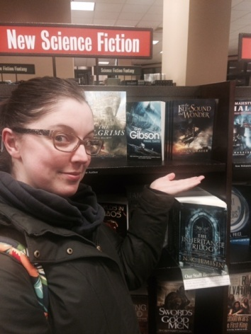 Behold! My first novel in the wild!