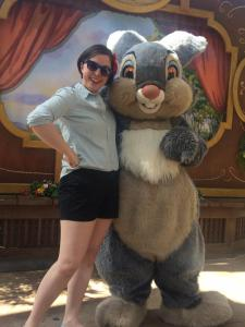 Me and Thumper at the Disneyland Springtime Roundup in 2014. A lifetime achievement unlocked.
