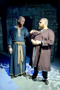Elliott Sowards as Agar and David Servillo as Moreland