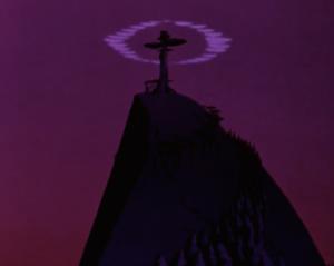 That's no tree...that's a crucifix. #subtle