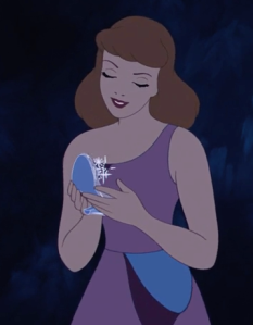 Cinderella, patron saint of patience and gratitude. There's no