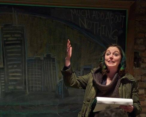 Yours truly as Beatrice (photo by Ivan Phillips)